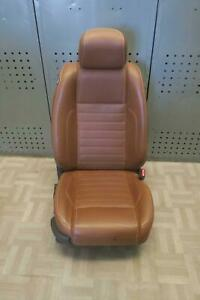 2010 2012 Ford Mustang Right Front Seat Bucket Leather Electric Oem 2011