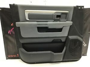2013 2018 Dodge Ram 1500 2500 3500 Crew Cab Driver Side Door Panel 2190245