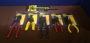 Klein Electrical Hand Tools Lot 6 pieces New In Packaging