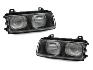 New Depo Euro Zkw Projector Head Lights For Bmw E36 3 Serie 92 99 W Ccfl Rings