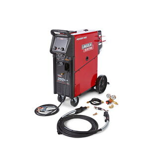 Lincoln Power Mig 360 Multiprocess Welder With Pulse 208 575v k4467 1