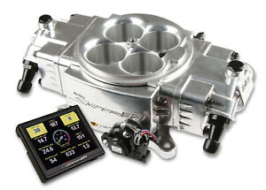 Holley 550 870 Holley Sniper Efi Stealth 4150 Kit Shiny Finish
