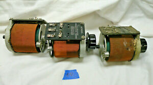 3 Lot Type W2 Variac s General Radio Variable Transfmrs 1 No Knob 1 No Brush