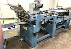1996 Mbo B20 Continuous Folder Right Angle 4 4 Stahl Baum Great Shape