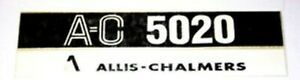 Made To Fit Allis Chalmers 5020 Hood Decal Set