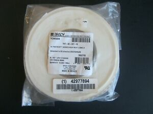 New Brady Tht 46 457 10 10000 Roll High Heat Resistant Labels 1 4 X 3 4 White