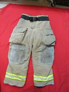 Mfg 2013 Globe Gxtreme 34 X 30 Firefighter Turnout Bunker Pants Fire Rescue