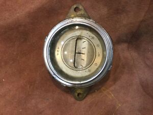 Original Ford Amp Gauge 1935 Coupe Hotrod Rat Rod Scta Cabriolet 1936 Coupe Trog
