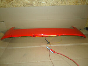 2012 Ford Focus Se Hatchback Rear Spoiler With 3rd Brake Light Race Red Pq
