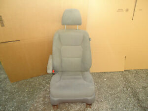 08 09 10 Honda Odyssey Power Front Left Driver Side Seat Cloth Gray