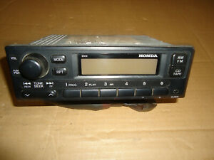 1999 2000 Honda Civic Lx Sedan Am fm Radio 2dc0 39100 s01 a210 m1