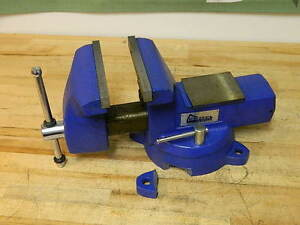 Gibraltar Combination Pipe Bench Vise W Swivel Base 8 Jaw Width