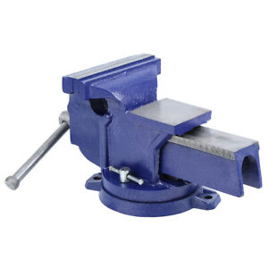 6 Inch Universal Locking Base Bench Table Vise Vice Heavy Duty