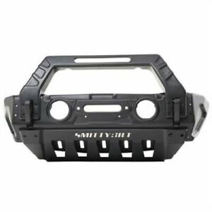 Smittybilt 76730 Stryker Front Bumper For 2018 up Jeep Jl 2007 up Jeep Jk