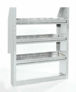 Promaster City Contour Aluminum Shelving W Open Back 38 W By American Van