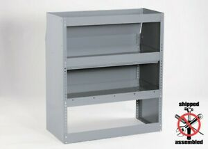 Heavy Duty Contour Van Shelving With Closed Back 39 Wide By American Van