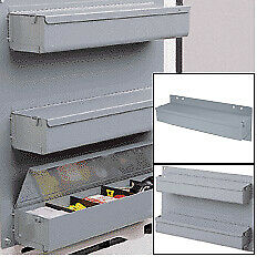 Covered Tray Door Storage Unit For Work Vans 3 Tray Unit By American Van