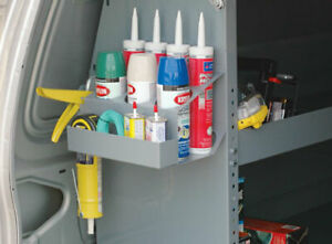 Caulk Tube Gun Spray Can Tray Mounts To Any Flat Surface By American Van