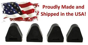 4 Pack Tailgate Latch Rubber Bumper Stop 16633065 Lh Rh For Chevy Silverado Gm