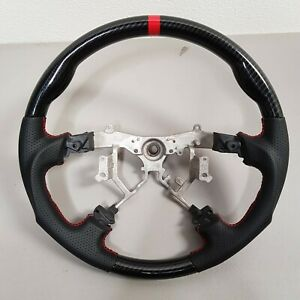 Sports Leather Steering Wheel For 03 06 2003 2006 Toyota Sequoia Tundra