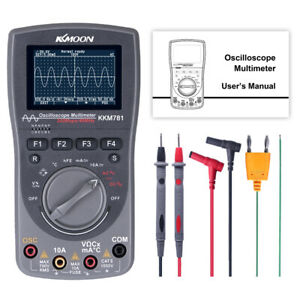 2in1 40mhz 200msps Handheld Digital Storage Oscilloscope Osc Scope Meter F0t3