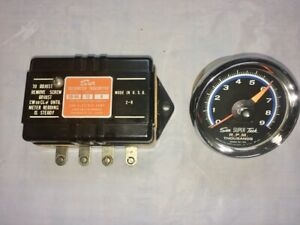 Sun Super Tach Sst 709 With Eb 9a Transmitter And Cup Used Working