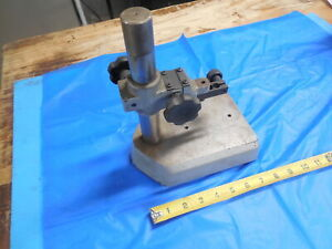 Mitutoyo Indicator Stand Adjustable Code No 215 630 Machine Shop Inspection