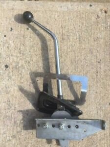 3 Speed Manual Floor Shifter With Boot Mounting Bracket Ball Rat Hot Rod