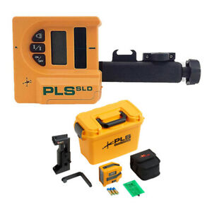 Pacific Laser Systems Green Cross Line Laser With Sld Laser Detector Bundle