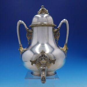 Moresque By Tiffany Co Sterling Silver Coffee Urn Kettle Museum Quality 4244