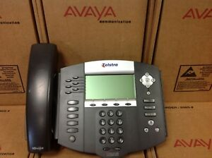Telstra Polycom Soundpoint Ip650 Sip 2201 12630 001 Phone W Stand
