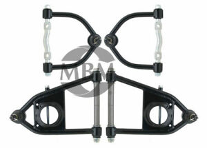 Mbm Mustang Ii Tubular Control Arm Set With Ball Joints Polyurethane Bushings