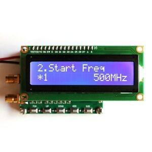 7 9 V Rf Signal Generator With Sweep Function 140mhz 4 4ghz Rf Signal Generator