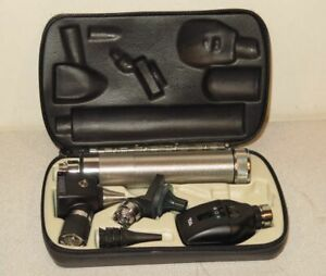 Welch Allyn 3 5v Otoscope Ophthalmoscope Nasal Diagnostic Kit 11720 26500