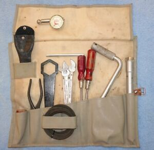 Porsche 356a Tool Kit Complete And Authentic Jorg Hazet Messko