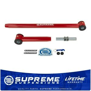 00 06 Gm Chevy Suvs Adjustable Rear Panhard Track Bar Suburban 2500 Pro Red