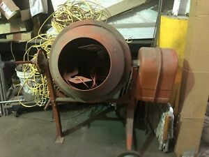 Central Machinery 3 1 2 Cubic Ft Cement Mixer