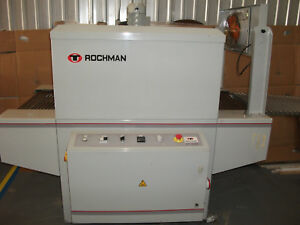 Rochman Shrink Wrapper With Heat Tunnel Bundler Sva 60 15 And Trc 65 100h 250