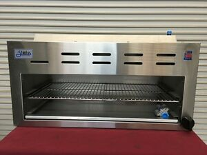 New 48 Infrared Cheese Melter Horizontal Gas Broiler Stratus Scm 48 3276 Usa