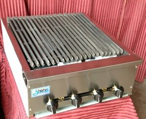 New 24 Snack Size Radiant Char Broiler 18 Cooking Depth Stratus Ssrb 24 3280