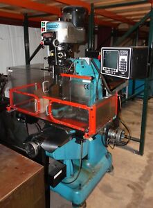 Bridgeport Series I Vertical Mill With Trak A g e 2 Cnc Control