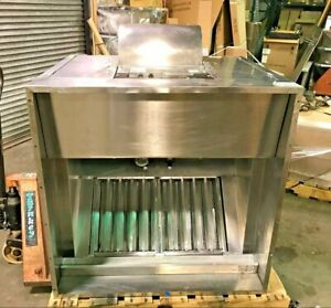 42 Giles Ventless Hood System All Stainless Steel