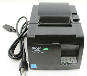Star Micronics Tsp100 Tsp143iiu Futureprnt Point Of Sale Thermal Printer