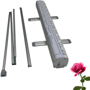 48 X 80 heavy duty Standard Retractable Roll Up Banner Stand stand Only