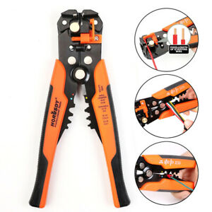 Self adjusting Insulation Wire Stripper Cutter Crimper Terminal Tool Pliers 8