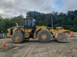 2003 Caterpillar 980g Series 2 8 Yard Bucket 60 Tires 21000 Hr Runs Nice
