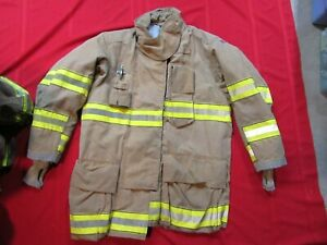 Mfg 2011 Globe Gxtreme 44 X 35 Firefighter Turnout Bunker Jacket Fire Rescue