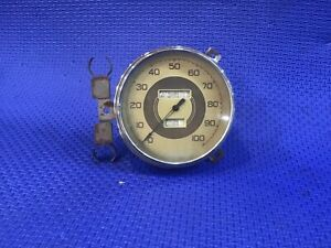 Antique 1937 1938 Ford Dash Panel Speedometer Coupe Hotrod Rat Rod Trog Model A