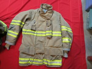 Mfg 2011 Globe Gxtreme 44 X 35 Firefighter Turnout Bunker Jacket Rescue Fire