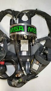 Msa Frame Harness 4500psi Scba Air Pack Bottle Cylinder Tank Pre owned
